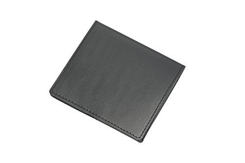薄いマネークリップ abrAsus(アブラサス)ブッテーロ レザー エディション ブラック