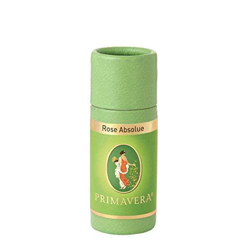 PRIMAVERA Ätherisches Öl Rose Absolue 1 ml - Aromaöl, Duftöl, Aromatherapie - harmonisierend - vegan