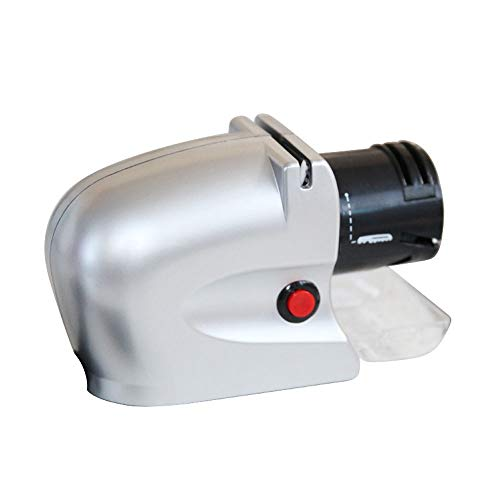 HUIXINLIANG Elektrischer Messerschärfer, Handheld-Professioneller Messerschärfer, schnell schärfen und schärfen, Nicht erreichte Klingen, geeignet für die Schere