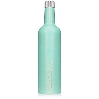 BruMate-Winesulator-25-Oz-Triple-Walled-Insulated-Wine-Canteen-Made-Of-Stainless-Steel-24-hour-Temperature-Retention-Shatterproof-Comes-With-Matching-Silicone-Funnel-Glitter-Aqua