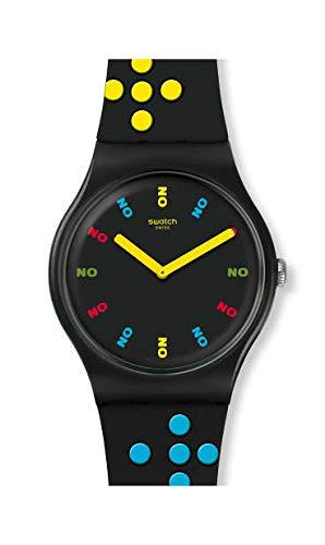 Orologio Solo Tempo Swatch Dr No 1962 SUOZ302