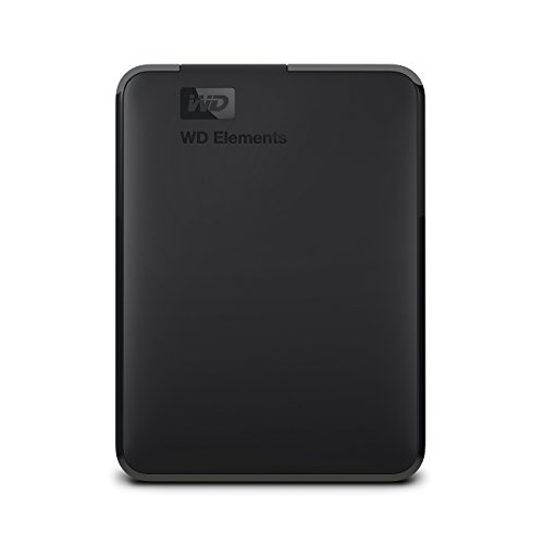 WD Elements Portable HDD Esterno 2000 GB, 3.5 Pollici, USB 3.0, Compatibilita' Mac, Nero