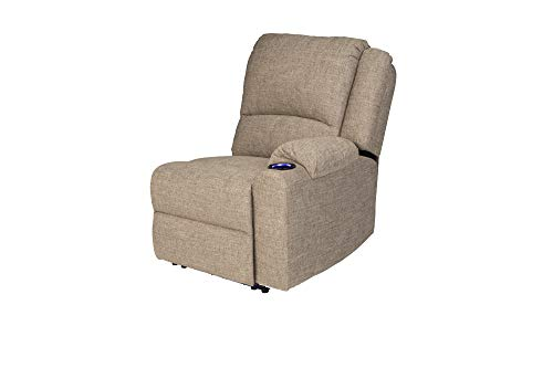THOMAS PAYNE 759239 Seismic Series Cobble Creek 30' x 38' x 40' RV Modular Theater Seating Left Hand Recliner