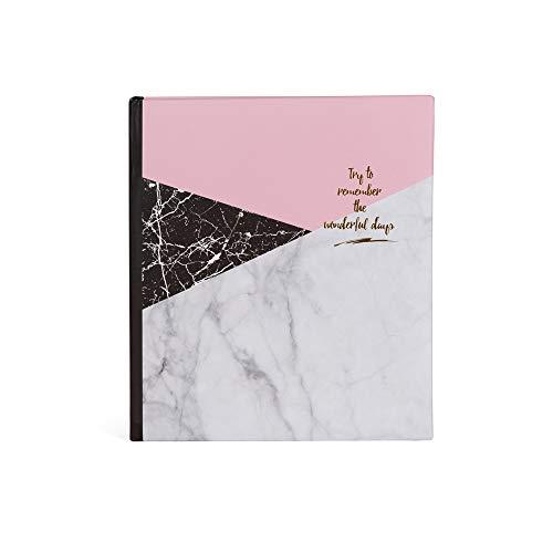 Hofmann   Álbum de fotos tipo eslipin   Regalo día de la madre   Capacidad para 100 fotos   Fotos: 11 x 15 c   Color interior blanca - memo