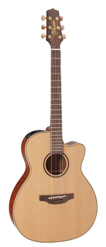 Takamine Pro Series 3 P3MC OM Body Acoustic Electric Guitar with Case