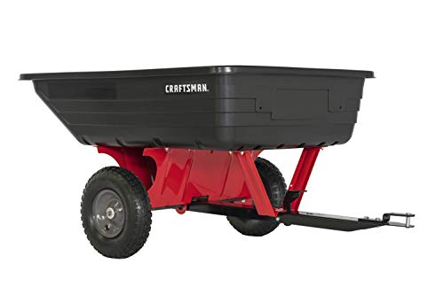 Craftsman CMX-GZ-BF-71-24489 10-cu ft Poly Dump Cart, One Size,...