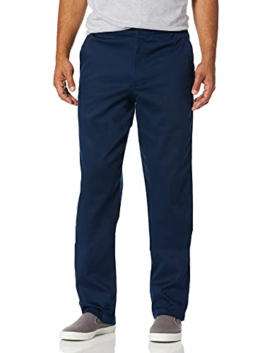 adidas Originals Men's Skateboarding Striped Chino Pants, collegiate navy, 3634