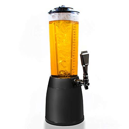 Goods & Gadgets - Erogatore di birra con spina, 4 l, con colonna refrigerante da 1,3 l