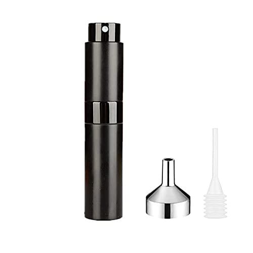 LATRAT Flacon Parfum Vide, 8ml Vaporisateur Vide de Sac Rechargeable, pour...