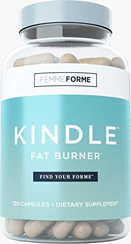 Femme Forme Kindle Fat Burner for Women: Top Rated Diet Pills and Weight Loss for Women Supplement, Formulated with Green Tea Extract (EGCG) to Boost Metabolism and Burn Body Fat, 120 Capsules 1