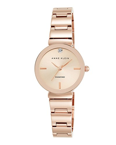 Diamond-Accented Bracelet Watch