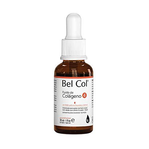 Bel Col Fluido Colágeno Facial 4 Hidratação Anti-Idade 30ml