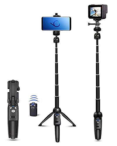 Selfie-Stick-40-inch-Extendable-Selfie-Stick-TripodPhone-Tripod-with-Wireless-Remote-Shutter-Compatible-with-iPhone-12-11-pro-Xs-Max-Xr-X-8Plus-7-Android-Samsung-Galaxy-S20-S10Gopro-and-More