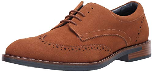 Steve Madden Men's TANNERS Oxford, Tan Suede, 11 M US