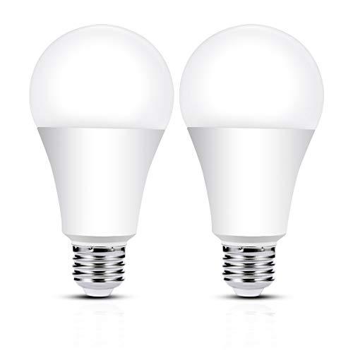 ロハス LED電球 E26口金 150W形相当 電球色 2200lm 高輝度 一般電球形 全方向タイプ 密閉形器具対応 2個入