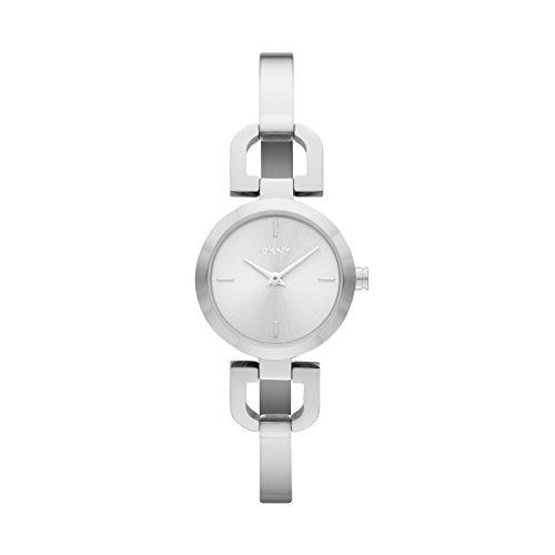 DKNY Damen Analog Quarz Uhr mit Edelstahl Armband NY8540