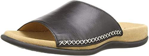 Gabor Shoes Damen Gabor Cervo Pantoletten, Schwarz (schwarz), 39 EU