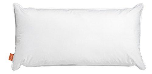 sleepling 190111 Wasserkissen Mikrofaser 40 x 80 cm, weiß