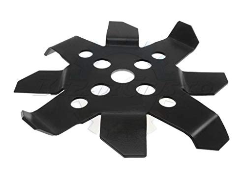 Disco lama in acciaio per decespugliatore per lavori pesanti, rovi