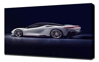 Lilarama (compatible with 2020-Pininfarina-Battista-V2- Canvas Art Print - Wall Art - Canvas Wrap - Wall Decor