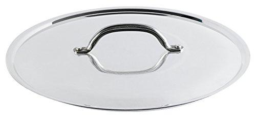 Pentole Agnelli PCMA02950 Coperchio, Alluminio, Argento
