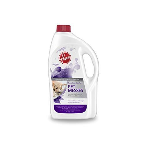 Hoover Max Derin Temizlik Halı Şampuanı, Evcil Hayvanlar için Konsantre Makine Temizleyici Çözümü, 64 oz Formül, AH30821, Beyaz