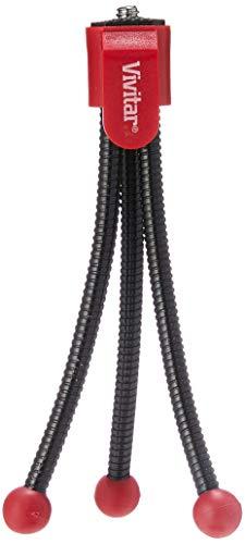 Mini Tripé Flexível com Altura até 10 cm, Vivitar, Geral