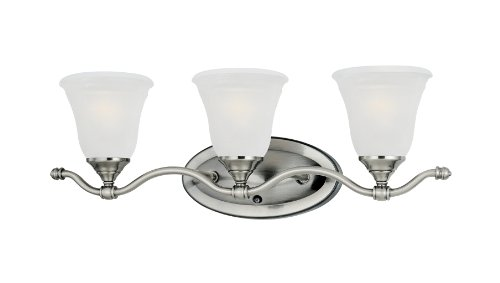 Thomas Lighting SL760341 Harmony 3-Light Wall Lamp in Satin Pewter