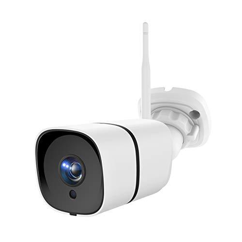 NETVUE Telecamera di sicurezza per esterni Telecamera IP WLAN 1080P WiFi IP66 Telecamera di sicurezza impermeabile con obiettivo da 3 megapixel, rilevamento del movimento, audio bidirezionale