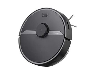 Roborock S6 Pure Robot Vacuum and Mop, Multi-Floor Mapping, Lidar Navigation, No-go Zones, Selective Room Cleaning, 2000Pa Suction Robotic Vacuum Cleaner, Wi-Fi Connected, Alexa Voice Control