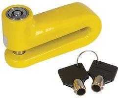 Silverline 932434 Motorrad-Bremsscheibenschloss 10-mm-Schließbolzen