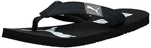 PUMA Cozy Flip, Scarpe da Spiaggia e Pisccina Unisex-Adulto, Nero Black/Castlerock, 42 EU