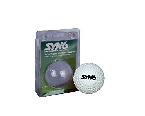SYN6 Hockey Ball White