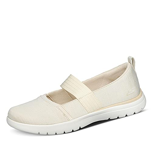 Skechers ON-The-GO Flex SPLENDORS, Zapatillas Mujer, Natural