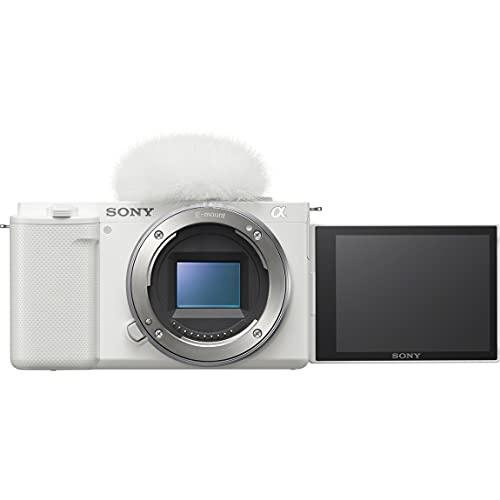 ソニー レンズ交換式 VLOGCAM ZV-E10 W ボディ ホワイト Vlog用カメラCinematic Vlog シネマティック