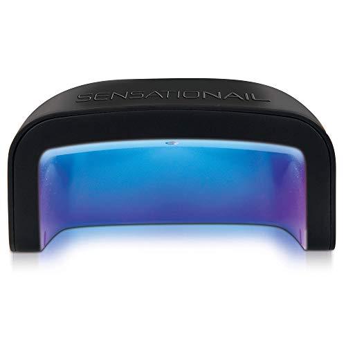Sensationail UV LED Nail Lamp - Flash Cures Gel Nail Polish, 1 EA, black (72081)