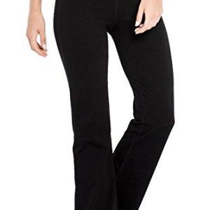 Houmous S-XXXL 29''31''33''35'' Inseam Women's Cotton Bootcut Pants Inner Pocket 38