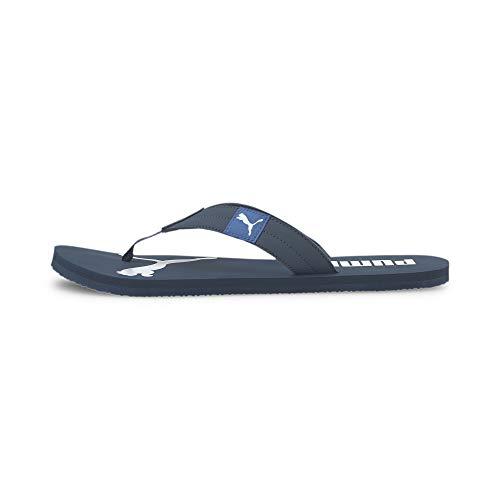 PUMA Cozy Flip, Zapatos de Playa y Piscina Unisex Adulto, Azul (Dark Denim/Palace Blue), 37 EU