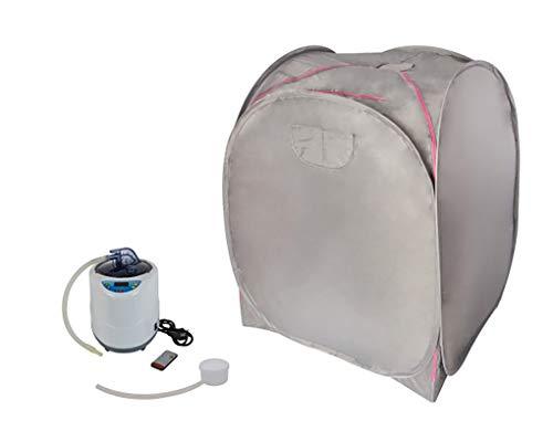 Dampfsauna Svedana, Dampfsauna mit elektronischem Dampferzeuger 2 Liter Volumen, 1000 W mit praktischer Fernbedienung