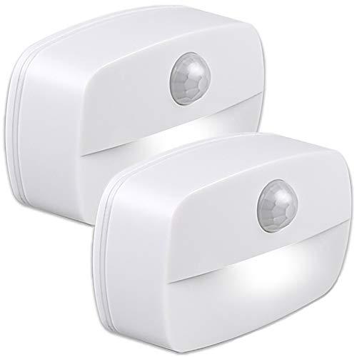 Luz Nocturna con Sensor Movimiento ,2 unidades Luz de Noche