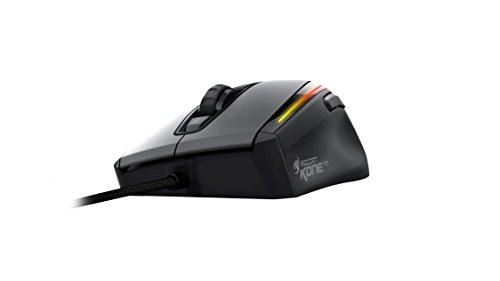 ROCCAT Kone XTD optische Gaming Maus (6400 dpi, Omron switches, 4D Titan Wheel, Gewichtssystem) schwarz