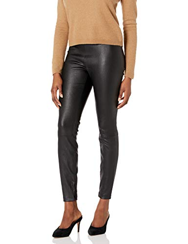 31hpB4tJ4wL Cut from stretch-leather, the legging has a smooth elasticated waistband and zipped cuffs to loosen the sleek silhouette. Fits true to size.