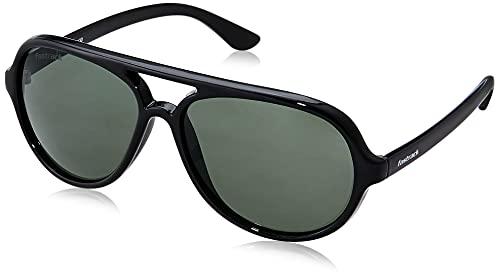 Fastrack Men Pilot Sunglasses Black Frame Brown Lens (Product code- P358BK2V)