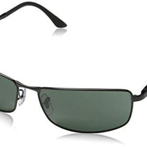 Ray-Ban Sunglasses - RB3498 / Frame- Black Lens- Green, 61 mm 50
