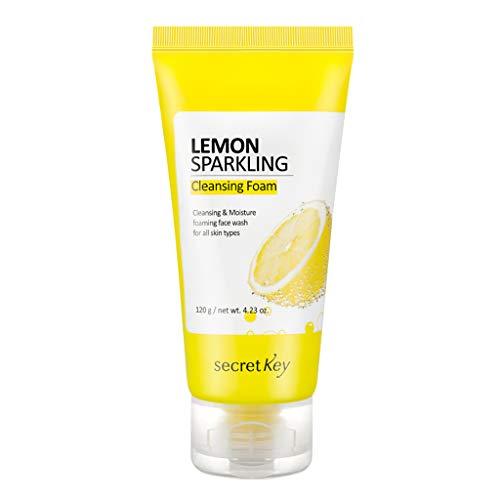 Secret Key Lemon Sparkling Cleansing Foam 120 g