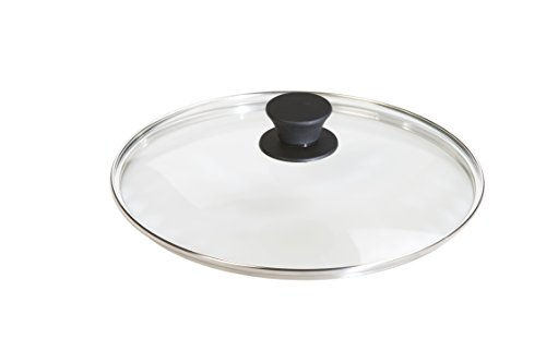 Lodge Tempered Glass Lid (10.25 Inch)  Fits Lodge 10.25 Inch Cast Iron Skillets and 5 Quart Dutch Ovens