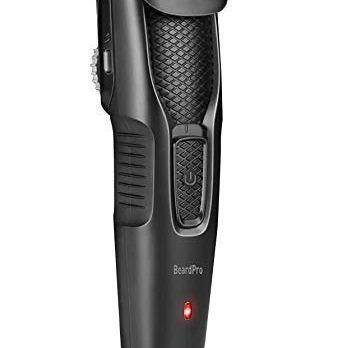 Syska HT200 PRO BeardPro Cordless Rechargeable Trimmer (Black)