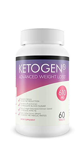 Ketogen RX - Advanced Weight Loss - Burn Fat Not Carbs - Keto Diet Supplement for Natural Weight Loss - 30 Day Supply 1