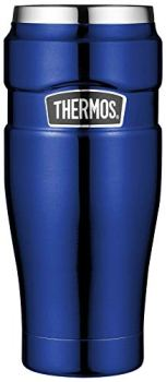 THERMOS 4002.205.047 Stainless King Coffee-to-Go Thermal Mug, 0.47 Litre, 7 Hours Hot, 18 Hours Cold, BPA