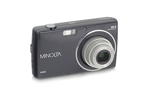 Minolta MN5Z 20 MP Digital Camera, Black